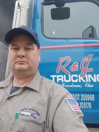 2020 Nominee - Driver of the Year from R & J Trucking